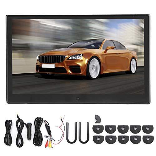 Car Monitor Hoofdsteun, 13in Achterbank Hoofdsteun Monitor Wifi Bluetooth Auto Hoofdsteun Videospeler Multimedia Speler Systeem voor Android