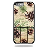Skin Compatible with OtterBox Universe iPhone 6 Plus / 6S Plus Case – Pine Collage | MightySkins Protective, Durable, and Unique Vinyl wrap Cover | Easy to Apply, Remove | Made in The USA