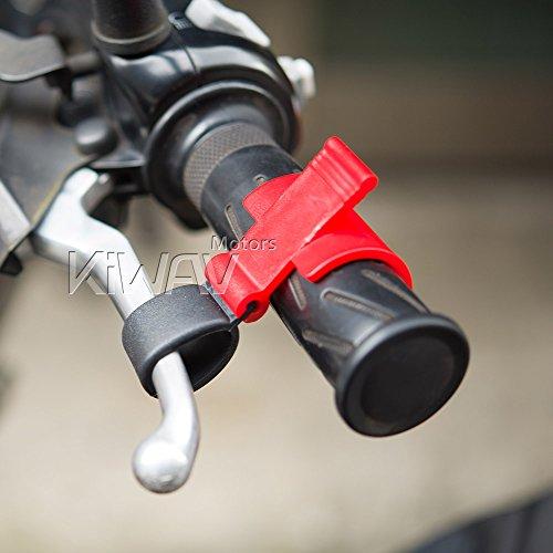 KiWAV Magazi Motorcycle Brake Lever Lock Compatible with Loading Jacking up Bike
