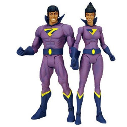 DC Universe Classics 2009 SDCC San Diego Comic-Con Exclusive Action Figure 2-Pack Wonder Twins (NO Gleek!)