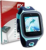 atFoliX Película Protectora Compatible con XPlora 4 Protector Película, Ultra Claro y Flexible FX Lámina Protectora de Pantalla (3X)