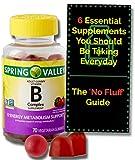 Vitamin B for Adults with Vitamin B6, B12, C, Biotin,...
