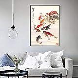 jjshily Große Wandkunst Bild Chinesischen Traditionellen
