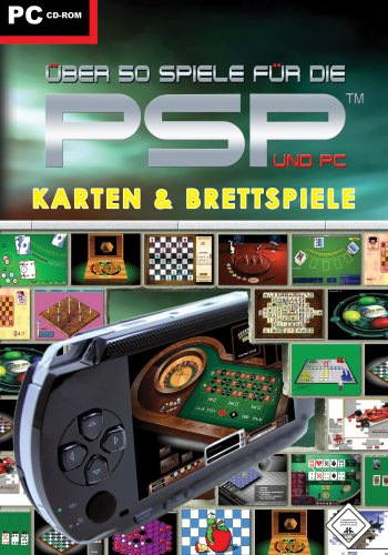 Preisvergleich Produktbild Ueber 50 Spiele für die PSP und PC - Karten & Brettspiele