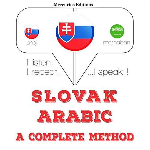 Couverture de Slovak - Arabic. A complete method