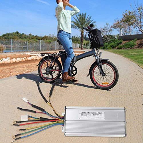 SALUTUYA Tiene una Buena función de disipación de Calor Los Cables e interfaces Son duraderos Frenado y Cambios de dirección Controlador eléctrico sin escobillas, para Bicicleta de Carretera de