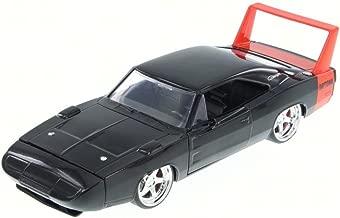 Jada 1969 Dodge Charger Daytona, Black 97683HT - 1/24 Scale Diecast Model Toy Car