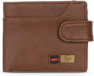 Baggit Men's Synthetic Wallet (Brown) (Tenis Y G Z)