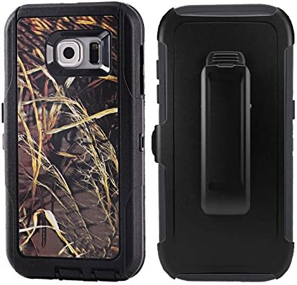 For Galaxy S6 Rugged Case Kecko Defender 3 Layer Tree Camo Mossy Shockproof Drop Impact Resistant product image