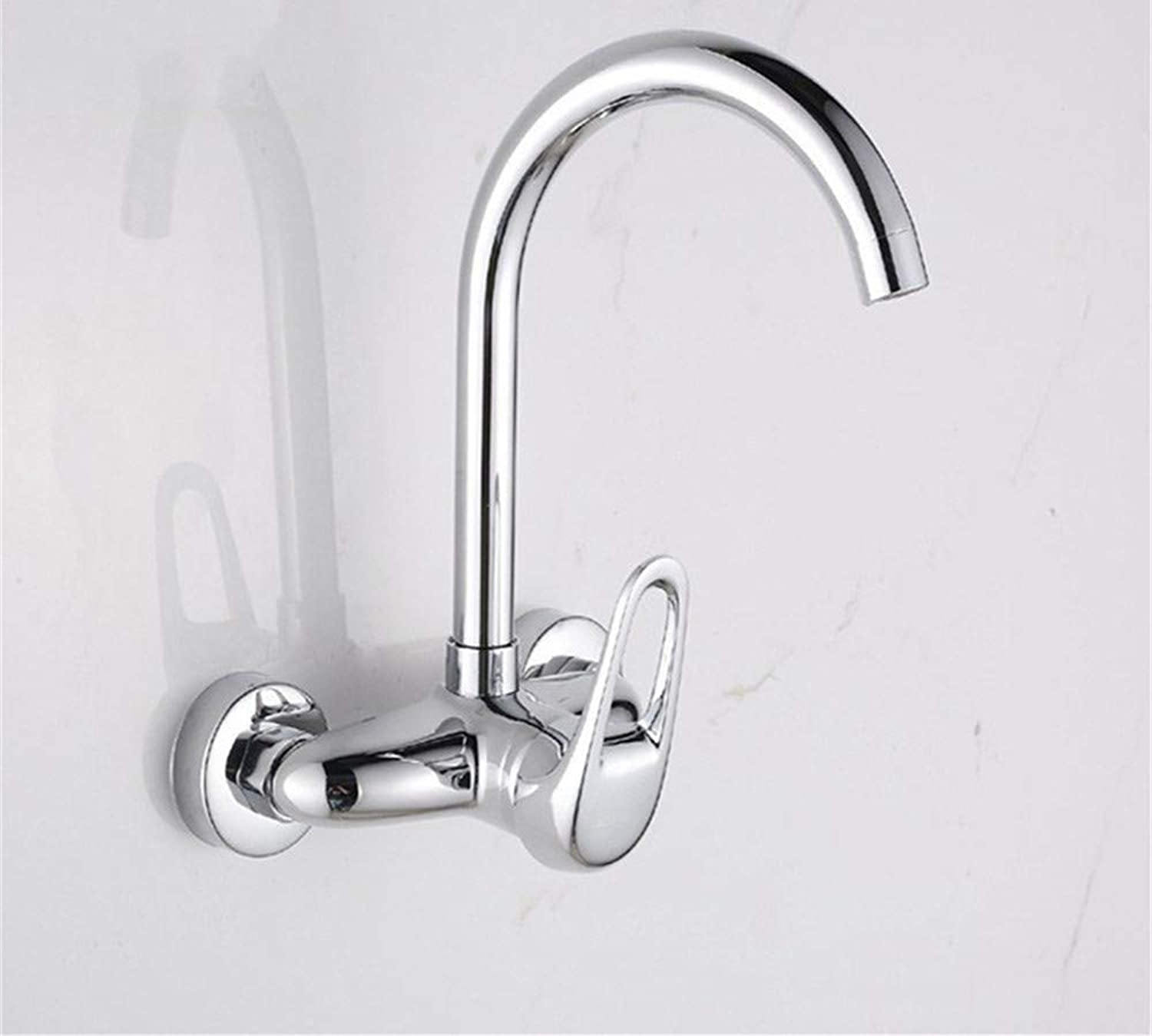 360° redating Faucet Retro Faucetkitchen Food Mixer Valve Mixer Whole Copper Balcony Wall Hanging Laundry Mop Pool Faucet
