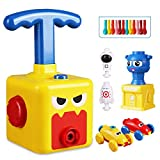 Balloon-powered car aerodynamic inertia-powered car, a set with a launch tower children's toys aerodynamic car with 12 balloons interesting educational toys (suitable for children over 3 years old