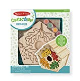 Melissa & Doug Created by Me! Birdhouse Wooden Craft Kit - The...