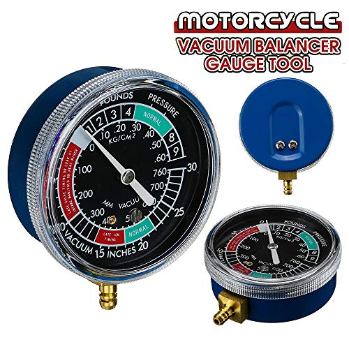 StyleBest Motorrad Kraftstoff Vakuum Vergaser Synchronizer Carb Sync Tool Tuner Balancer
