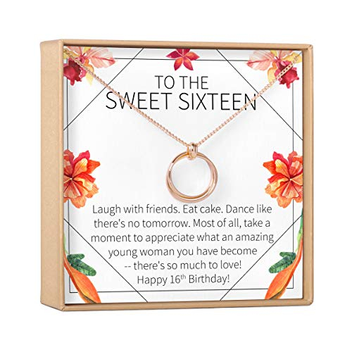 Dear Ava Sweet 16 Gift Necklace: Sweet Sixteen, 16th Birthday, Daughter,...