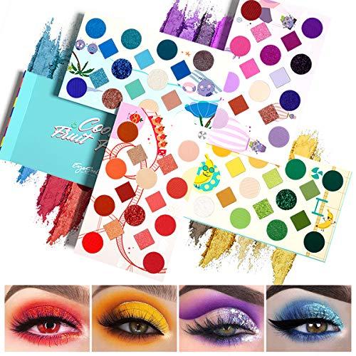 EYESEEK 64 Colors Eyeshadow Palette Professional High Pigmented Makeup...