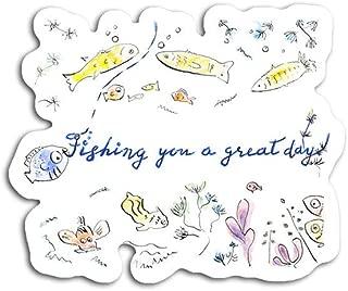 gordonstore Sticker Creature Animal Fishing You A Great Day Animals Fauna (3