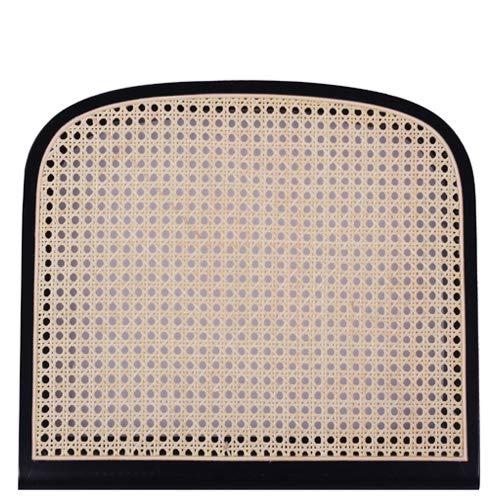 pemora Sitzfläche für Schwingstuhl mit Wiener Geflecht in Natur und Rahmen aus ausgesuchtem Buchenholz in schwarz