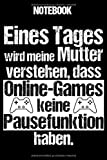 Notebook: Gamerin Notizbuch Blanko A5 Lustiger Spruch Für Nerds Und Geeks / Organizer Mit 120...