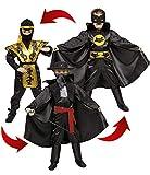 Ciao - Eroi Action 3 in 1 Costume Bambino, 10-12 Anni