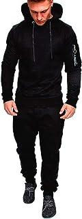 Mens Sweatsuits 2 Piece Hoodie Tracksuit Sets Casual Comfy Camo Jogging Suits for Men Sports Suit Activewear