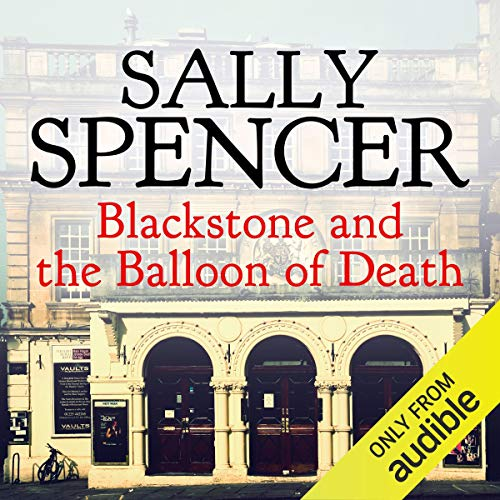 Blackstone and the Balloon of Death audiobook cover art