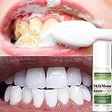 vmree Bleeding Gums and Gingivitis Toothpaste - Fluoride Free - Freshens Breath - Stain Removal Whitening Foam Toothpaste (white) (Green)