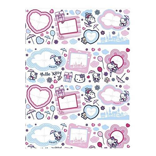 GUIZMAX Compatible avec Stickers Mural Hello Kitty Disney Muraux Cadre Photo XL