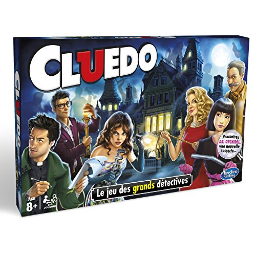 Cluedo - Jeu de societe Cluedo Classique - Jeu de plateau - Version française