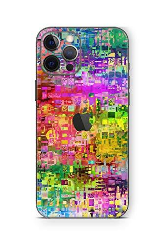 Skins4u iPhone 12 Mini Skin Wrap Design Schutzfolie Rückseite mit Kameraschutz Aufkleber matt Skins Abstract