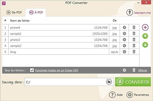 Icecream PDF Converter PRO [Téléchargement]