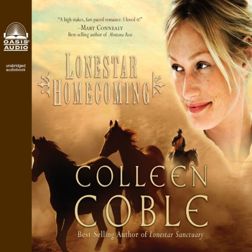 Lonestar Homecoming audiobook cover art