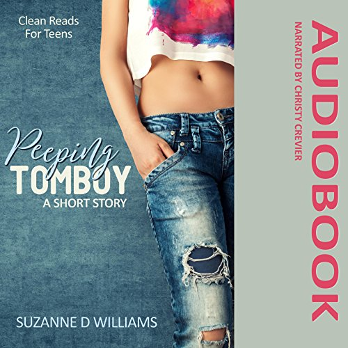 Peeping Tomboy audiobook cover art