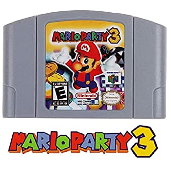 N64 Mario Party 3 Video Game Cartridge Console Card US Version For Nintendo 64