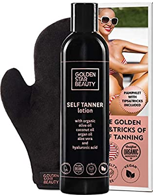 Self Tanner with Tanning
