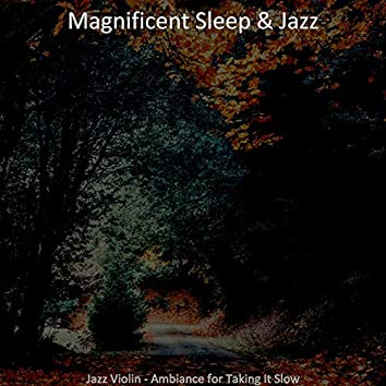 Jazz Violin - Ambiance for Taking It Slow