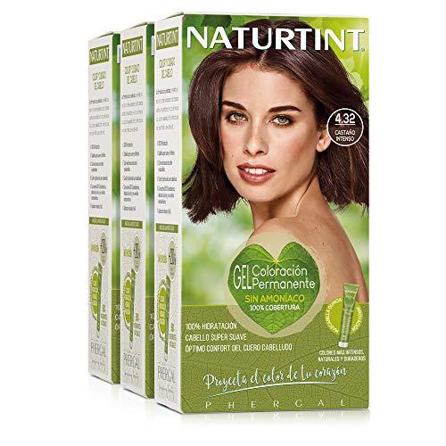 Naturtint   Haarfarbe Ohne Ammoniak   Mit einem hohen Prozentsatz natürlicher Inhaltsstoffe   170ml (x3)