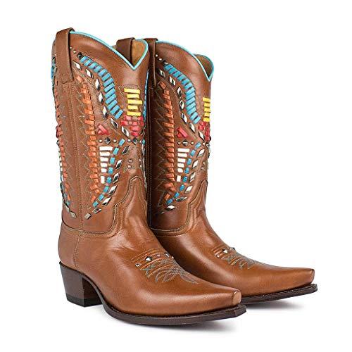 Sendra Boots Bottes De Cowboy Western Bottes Biker Bottes Bottes De Moto 8833
