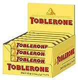 Toblerone - Barres au chocolat au lait - Pack de 24 barres (35g)