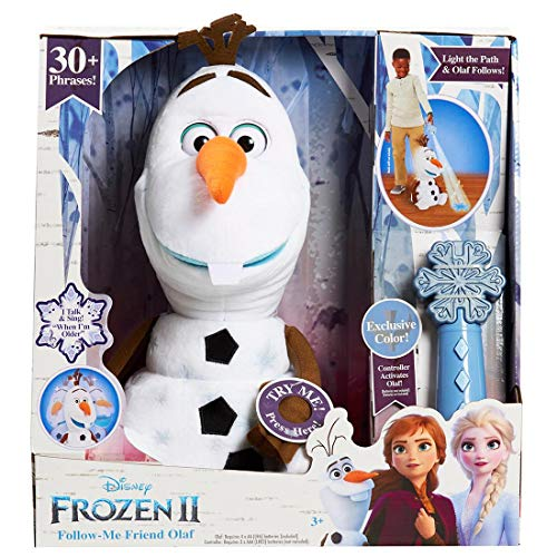 Olaf Disney Frozen 2 Follow-Me with BJ's Exclusive Colored Remote