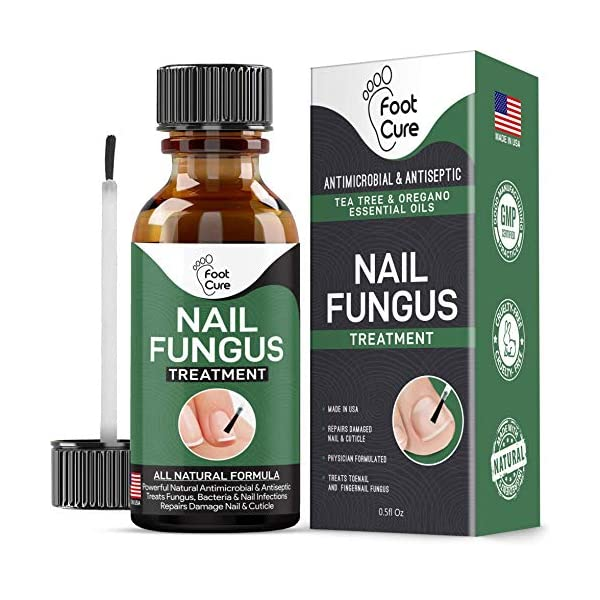 EXTRA STRONG Nail Fungus Treatment -Made In USA, Best Nail Repair Set, Stop Fungal...