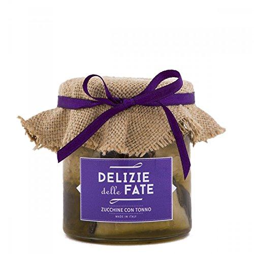 Zucchine con Tonno in olio extra vergine di oliva (230 gr)