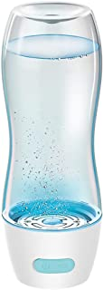 Sooiy Taza de Agua portátil Inteligente, Agua embotellada de hidrógeno, Agua embotellada hidrogena Taza de la energía alcalina del generador de Agua iónica, 350ML de