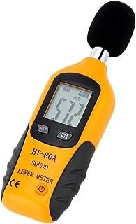 Mengshen Decibel Meter, Digital Sound Level Meter Handheld Audio Noise Meter Tester with LCD Display Measuring 30-130dB (B...