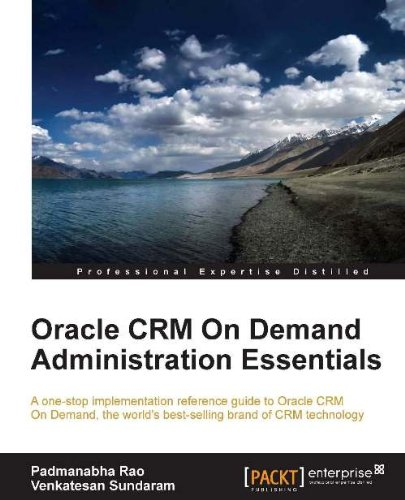 Oracle CRM On Demand Administration Essentials (English Edition)