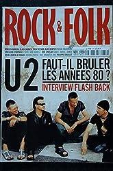 ROCK & FOLK 399 U2 Marilyn MANSON Black SABBATH Alice COOPER BOB SINCLAIR HOUELLEBECK