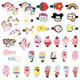 40 Stück Tier Haarspangen Baby Mädchen Haarspangen Niedlichen Cartoon Haarspangen Mädchen Haarclips Girls Hair Clips für Mädchen Kinder