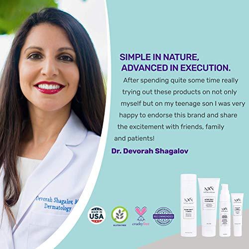 NxN Acne Treatment Kit 4-Step Clear Skin System with Salicylic Acid, Probiotics, Sulfer  New Hampshire