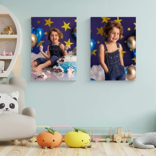 Stampa Foto su Tela Personalizza con la Tua Foto e arreda Case, uffici e Locali - Comprende Telaio in legno (30X30)