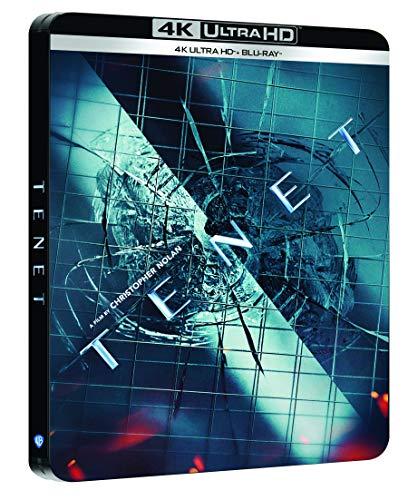 Tenet [4K Ultra HD Blu-Ray Bonus-Édition boîtier SteelBook]