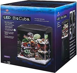 Coralife Fish Tank LED BioCube Aquarium Starter Kits  Size 32